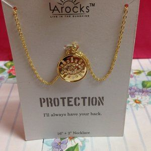 La Rock Evil Eye Medallion For Protection